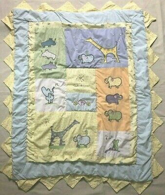 Carters John Lennon Imagine Real Love Baby Quilt Crib Blanket Wall Hanging 1999