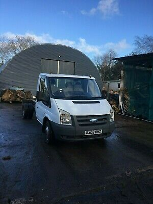 Ford Transit 350 Tdci chassis single cab