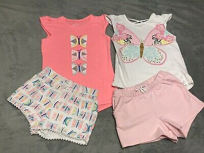 GIRLS JUMPING BEANS 2 PIECE OUTFIT SIZE 6/6x
