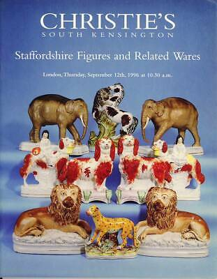 Christie's Catalogue of Staffordshire Figures and Related Wares September 1996