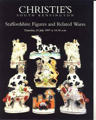 Christie's Catalogue of Staffordshire Figures and Related Wares July 1997