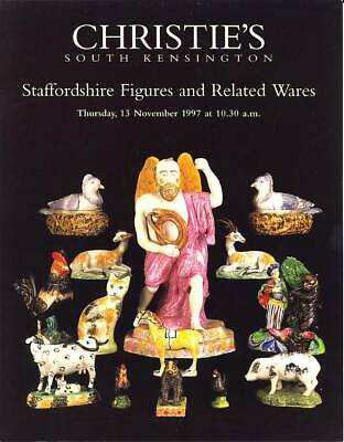 Christie's Catalogue of Staffordshire Figures and Related Wares November 1997