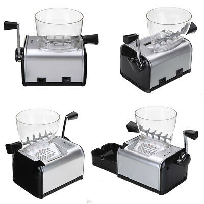Automatic Cigarette Rolling Machine Electric Injector Tobacco Roller Maker 8mm