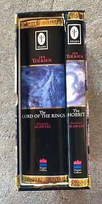 JRR Tolkien The Hobbit & The Lord Of The Rings Illustrated By Alan Lee Box Set