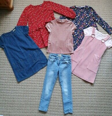 Girls Age 6-7 Years Next dress, Jeans, Clothes Bundle