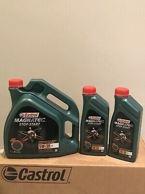 Castrol Magnatec Stop-Start 5W-30 C3 Fully Synthetic Engine Oil 5W30 6 LITRES