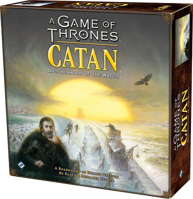 A Game of Thrones Catan Brotherhood of the Watch Board Game - FACTORY SEALED