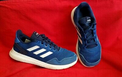 adidas Archivo kids boys Size 4.5 (US) blue gym running shoe [EF0535]
