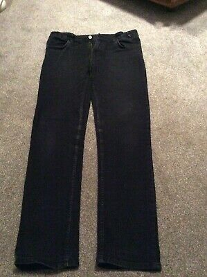 Boys H&M Skinny Fit Jeans Black 13-14 Years Great For Winter Look