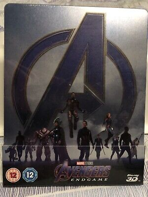 Steelbook Blu Ray Marvel Avengers End Game New & Sealed
