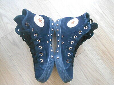 Converse Chuck Taylor All Star High Top Suede Fashion Trainers  Size Uk 6  Vgc