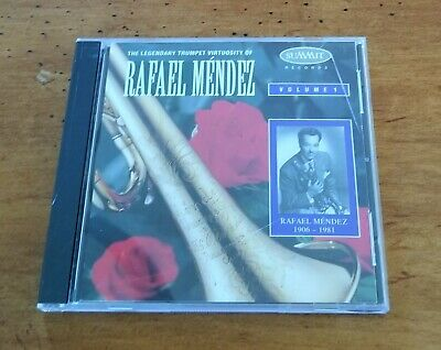 Legendary Trumpet Virtuosity of Rafael Mendez, Vol. 1 CD - Great Condition!