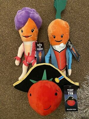 Kevin & KatIe The Carrot & Tiny Tom  2019 Aldi Tomato the New Toy Christmas