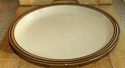 "Denby Stoneware 'Pampas' 10 1/8"" Diameter Dinner Plate- In Excellent Condition"