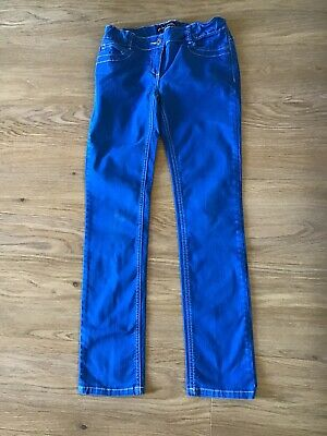 Mini Boden Girls Skinny Jeans Trousers - Royal Blue - Age 12 Years