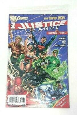 DC - Justice League Combo Pack Comic - #001 - New