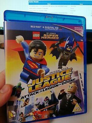 Lego DC Comics Super Heroes Justice League Attack Of The Legion Of Doom! Blu-Ray