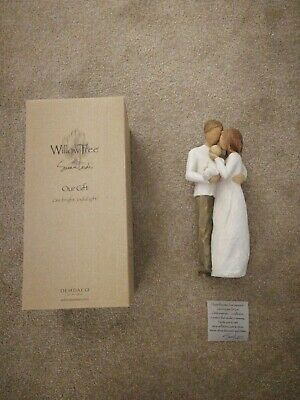 Willow Tree 26181 Our Gift Resin Figurine. BNIB. New home gift. New baby gift.