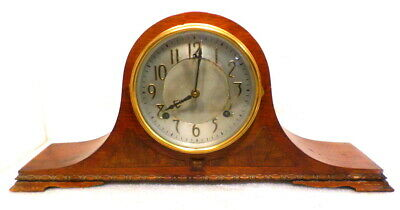 Carved Base 'Stratford' Model American Mantle Clock By Sessions, Circa 1920