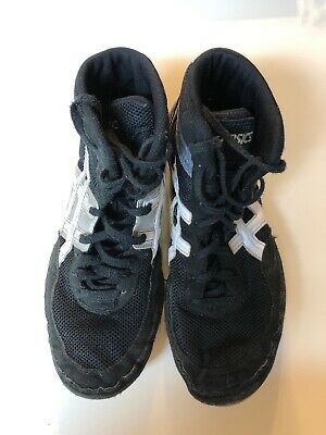 Asics Matflex Wrestling Shoes Size 11 Black