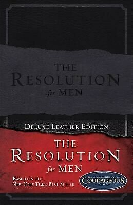 The Resolution for Men, LeatherTouch .. NEW