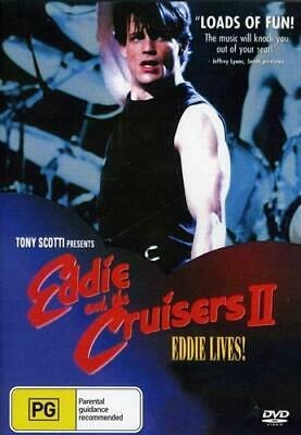 Eddie & the Cruisers 2 - Eddie Lives! DVD (New/Sealed) USA Compatible