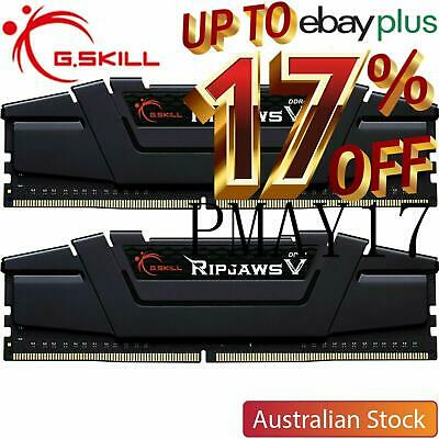 G.Skill Ripjaws V 16GB (2x8GB) 3600MHz CL16 DDR4 Desktop RAM Memory Kit