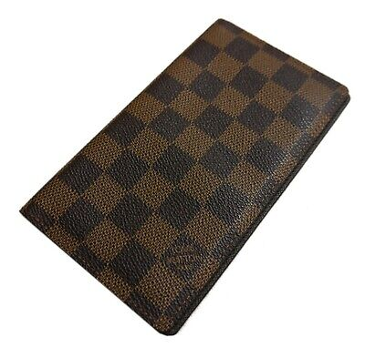 Authentic LOUIS VUITTON Agenda Posh notebook cover PVC #530