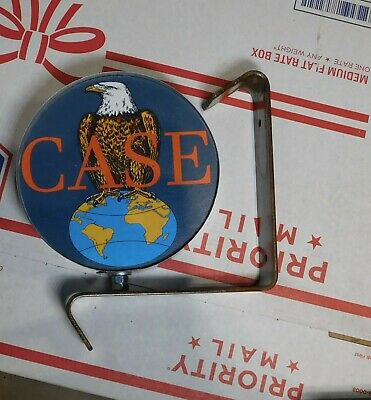 Case Tractor 2 old logo emblem miniature wall,post service Sign
