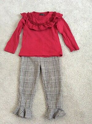 GIRLS TOP & TROUSERS RIVER ISLAND 2/3 yrs