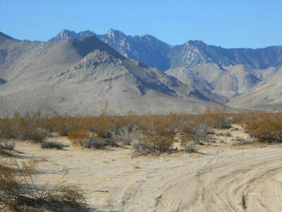 5 Acre Lot In Inyokern California Near Hwy 395