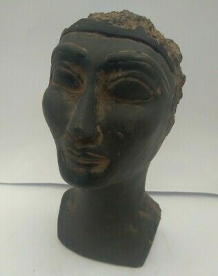 RARE ANTIQUE ANCIENT EGYPTIAN Beautiful Clever Queen Nefertiti 1365-1325 Bc