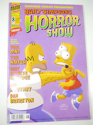 Simpsons Comics Bart Simpsons Horror Show Special Issue 8 Comic Dino (MF5)