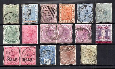 British Commonwealth QV collection x 17V WS16282
