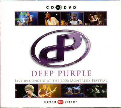 Deep Purple - Live In Concert At The 2006 Montreux Festival (2013)  CD+DVD  NEW