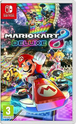 Mario Kart 8 Deluxe Nintendo Switch Boxed Switch Game Fast UK Post