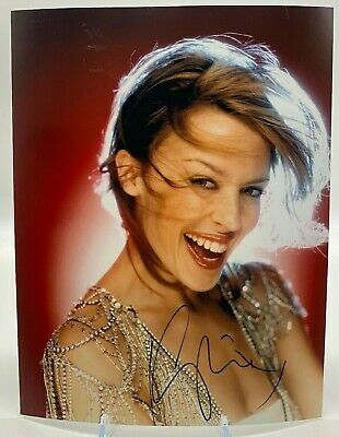 Kylie Minogue Signed 10x8 Photo AFTAL OnlineCOA