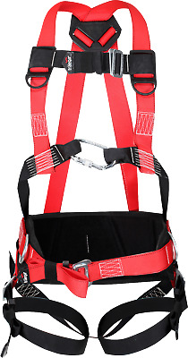 HT3B Traega Premium Safety 3pt Harness, W/Belt, Construction, Working at Height