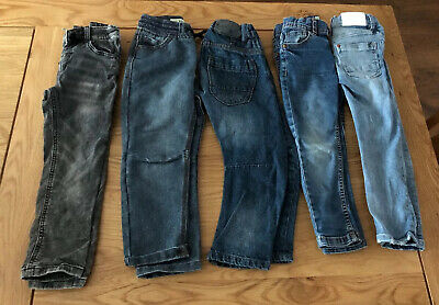 Boys Jeans Bundle Age 4-5 Years (W40)