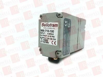 Marsh Bellofram 969-710-100 / 969710100 (Used Tested Cleaned)