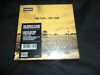 OASIS - TIME FLIES 1994-2009 ; very rare deluxe 3-CD + DVD Box Set ; New & Seale