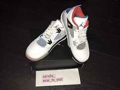 NIKE AIR JORDAN 4 IV Retro PS 'What The', BQ7669 146, UK 2.5