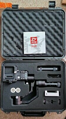 Zhiyun Crane V2 3-Axis Handheld Gimbal Stabilizer - Used, great condition