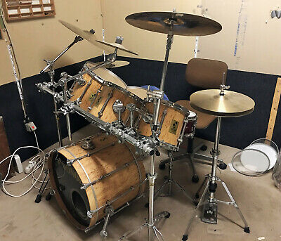 Sonor Force 3000 Maserbirke 22,12,14,16 Drums Schlagzeug  *Made in Germany*