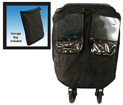 Comfy Baby Universal Deluxe Twin Stroller Weather Protector