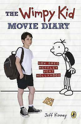 The Wimpy Kid Movie Diary: How Greg Heffley Went Hollywood by Jeff Kinney (Pape…