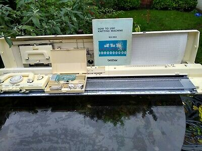 brother kh950 electroknit knitting machine fully serviced and tested