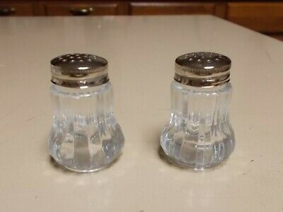 Doctor Antique Glass Salt and Pepper Shakers Diploma