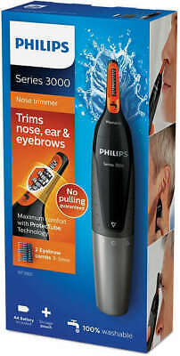 Philips Series 3000 Battery-Operated Nose, Ear & Eyebrow Trimmer NT3160/15 | NEW
