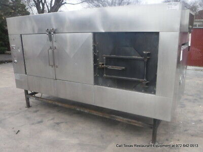 Ole Hickory 10' Gas Commercial BBQ Pit Smoker Oven